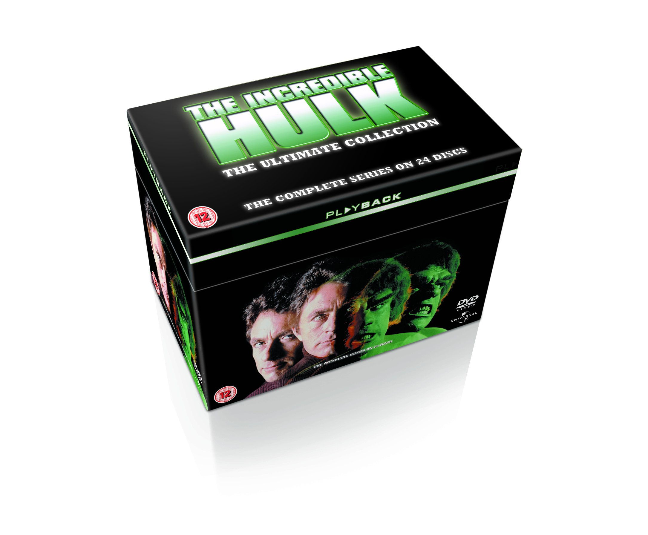 The Incredible Hulk: The Complete Seasons