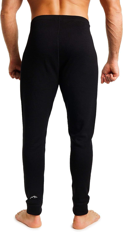 Merino.tech Merino Wool Base Layer Mens Bottom Pants 100/% Merino Wool Midweight Thermal Underwear Long Johns Wool Socks