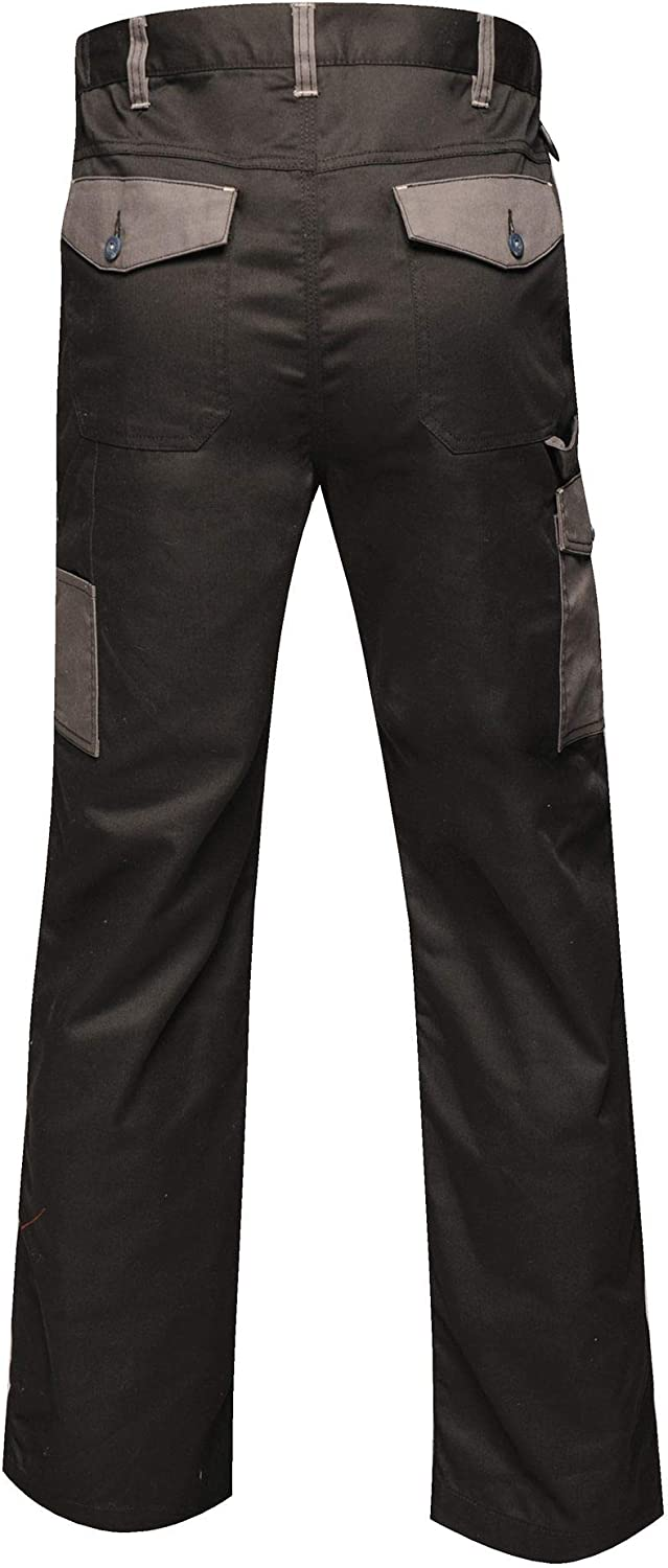Regatta Mens Professional Contrast Cargo Hardwearing Triple Stitched Water Repellent Trousers Trousers