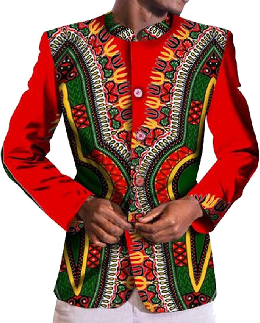 Etecredpow Men Easy Fit Slim Long Sleeve Button Down Vogue Lapel Shirts