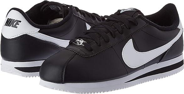 Nike Mens Cortez Basic Black White