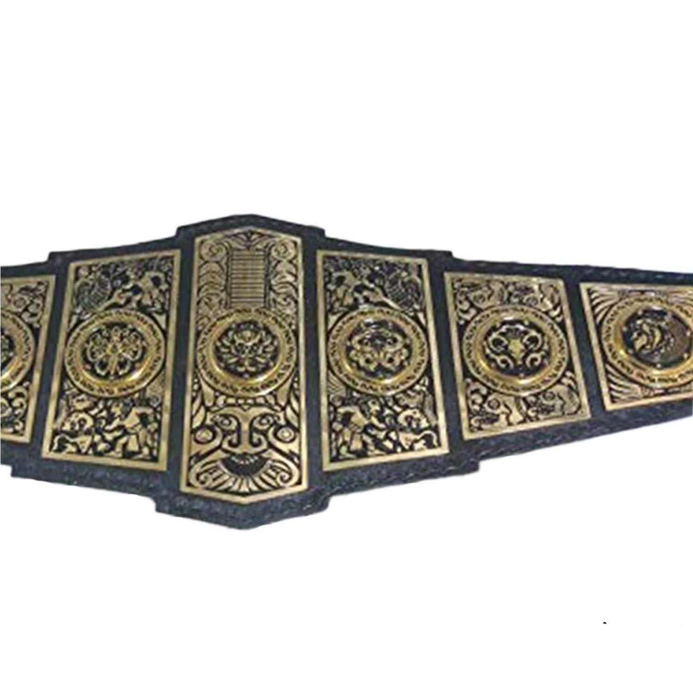 ECW WORLD HEAVYWEIGHT CHAMPIONSHIP BELT TITLE REPLICA 2mm PLATES