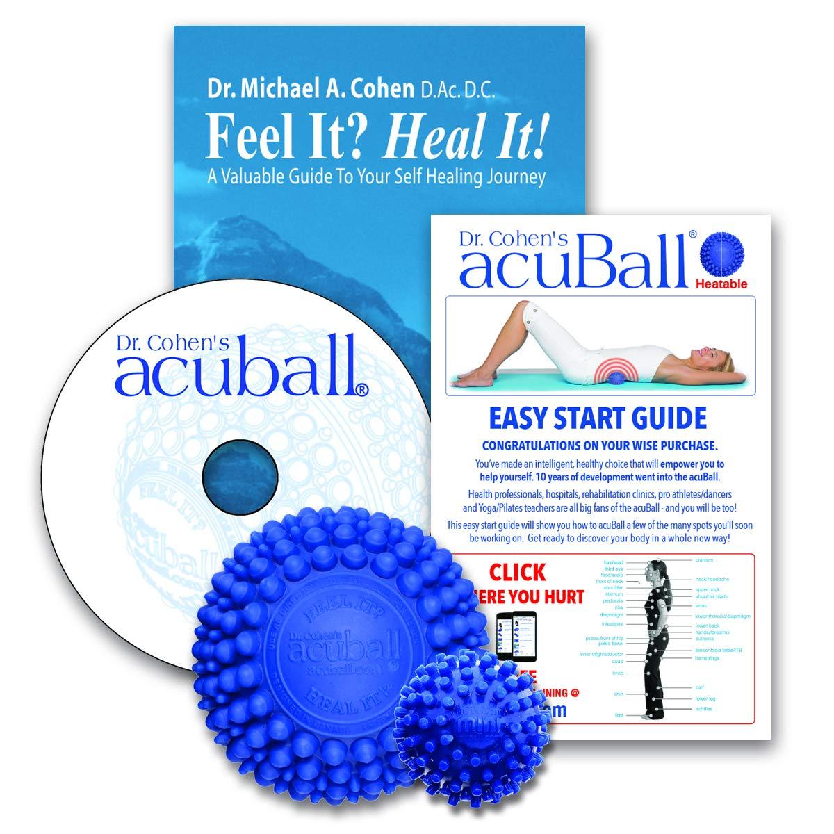 Dr. Cohens Heatable acuBall 5 Pcs Kit with Mini