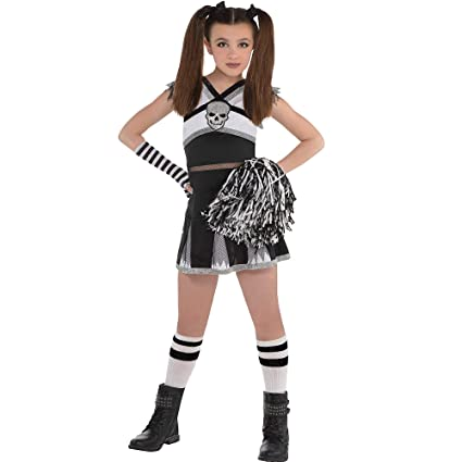 AMSCAN Rah Rah Rebel Cheerleader Halloween Costume for Girls, Extra Large,  with Included Accessories