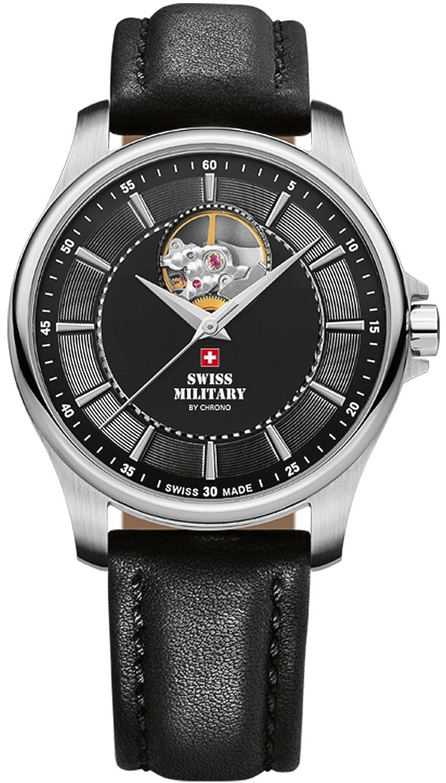 (スイスミリタリー) Swiss military SMA34050.05 男性用 自動巻き 時計 [並行輸入品] B0774TKH7F