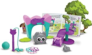 Learning Resources Coding Critters Scamper & Sneaker, Toy of the Year Award Winner, Homeschool, Interactive STEM Coding Toy, Early Coding Toy for Kids, 22 Piece Set, Ages 4+