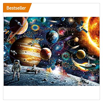 Oillian Jigsaw Puzzles for Adults 1000 Piece, Planets in Space: Toys & Games