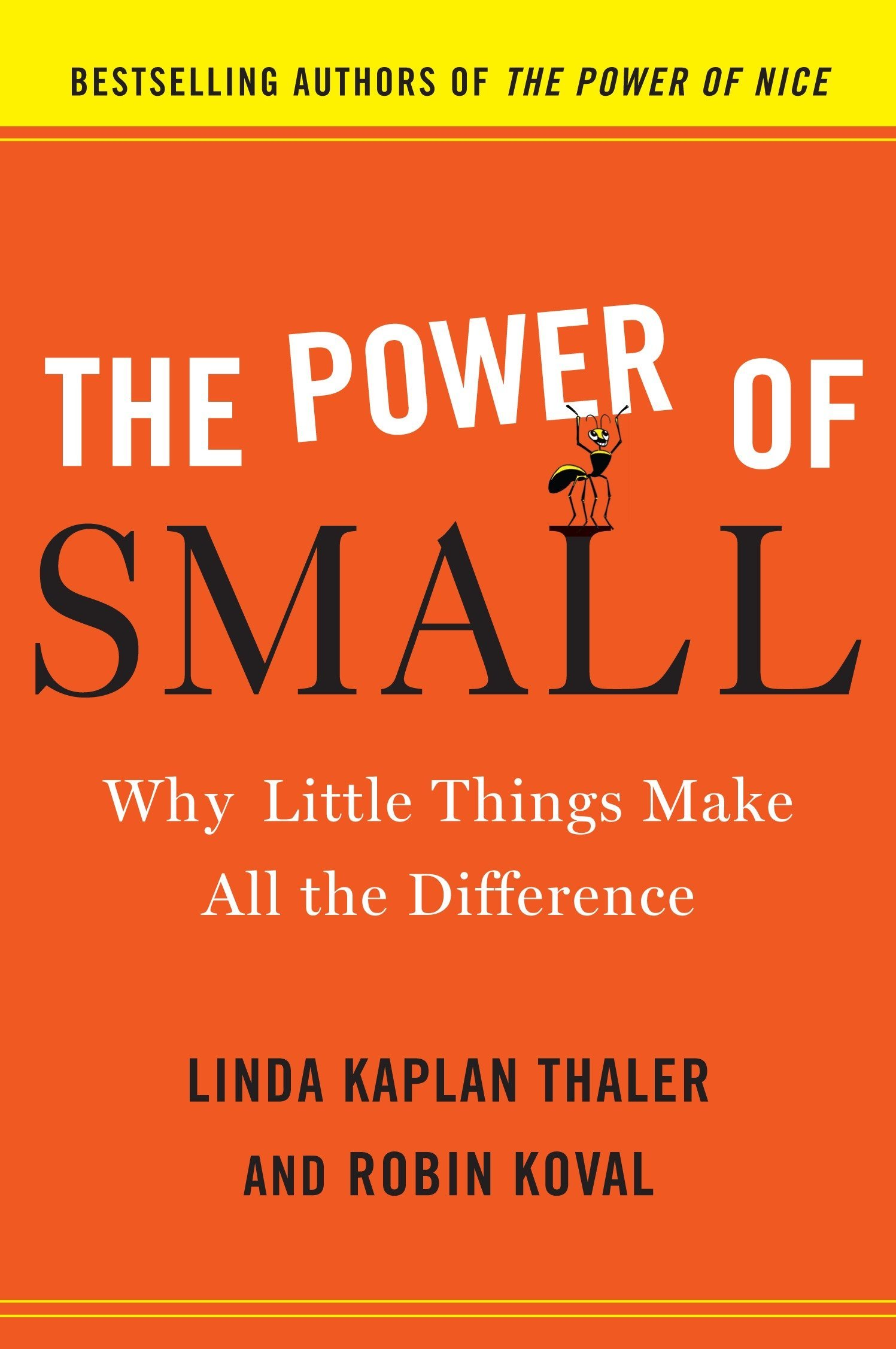 The Power Of Small Why Little Things Make All The Difference Amazon Co Uk Kaplan Thaler Linda 9780385526555 Books