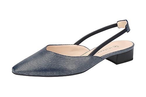 new style 00243 3db1a Peter Kaiser Women's Carsta Sling Back Heels Black