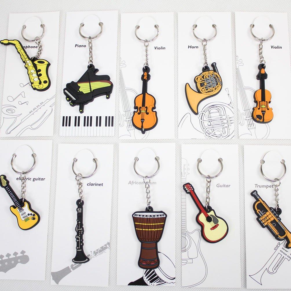 gunking clarinete llavero clarinete clave cadena llavero ...