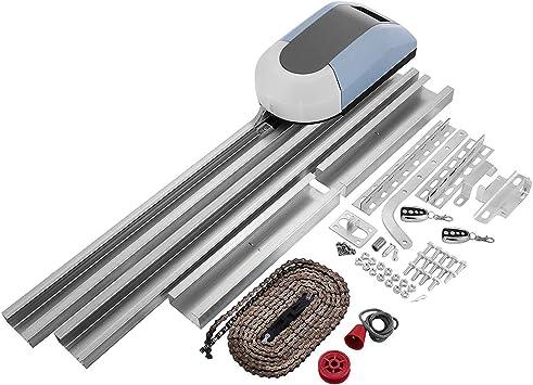 Mophorn Operador de Abridor de Puertas de Garaje 1000N Kit Completo 150W Control Remoto Eléctrico Automático Puertas Abrelatas Kit de Puertas Corredizas: Amazon.es: Bricolaje y herramientas