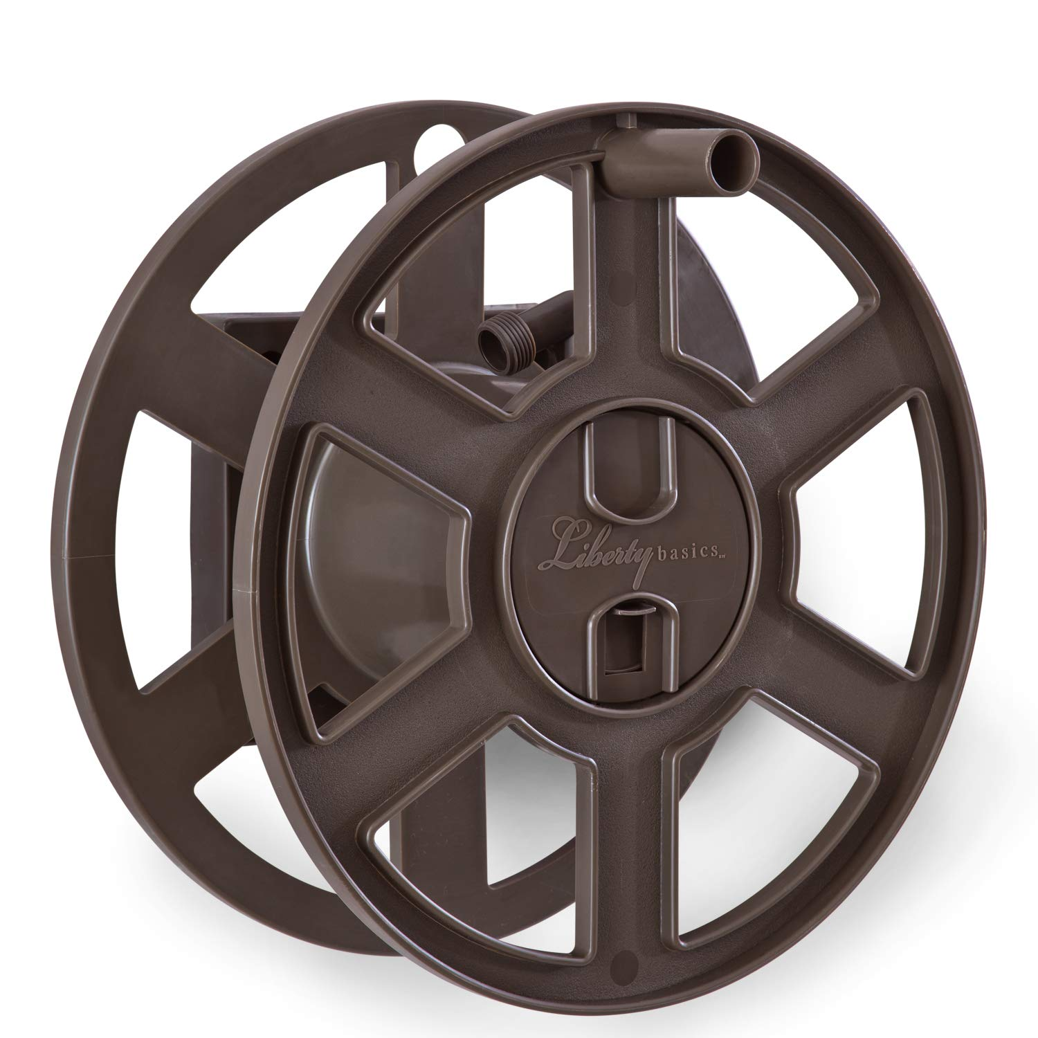 Liberty Basics 510 Wall Mount Hose Reel, Bronze