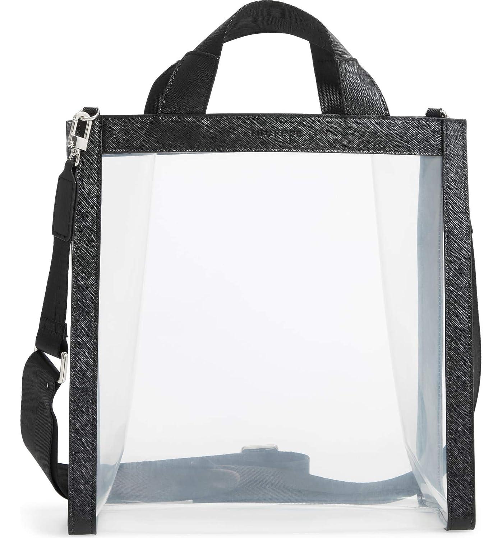 [トリュフ] レディース トートバッグ Truffle Clarity Clear Tote [並行輸入品] B07RXRF74M  One-Size