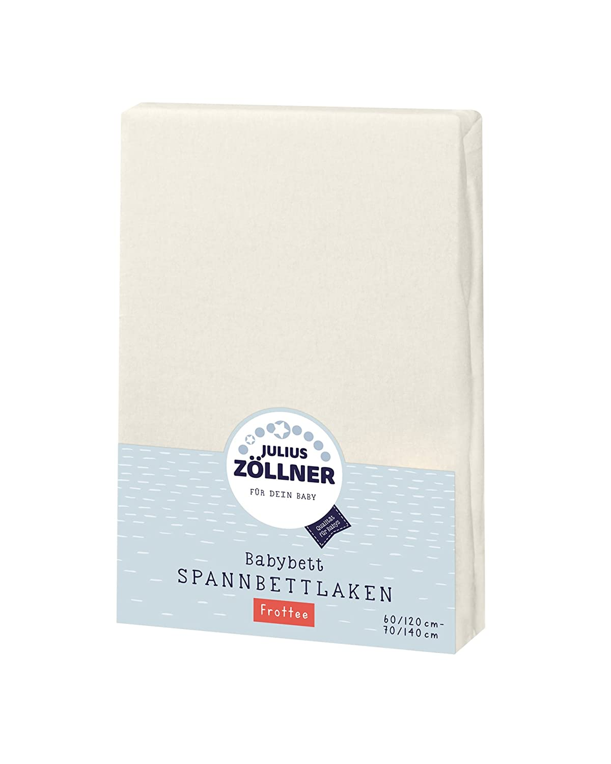 Size:60/x 120/cm// 70/x 140/cm Available in a Range of Colours Terry Cloth Fitted Sheet for Children/'s Bed Julius Z/öllner