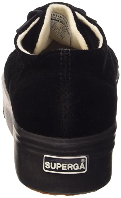 Superga S0080Y0 - Chaussures, 999 Noir, Taille 38