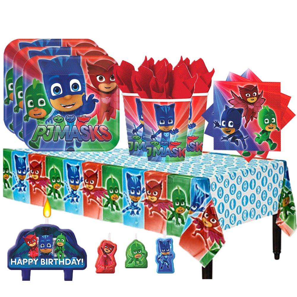 PJ Mask Party Bundles for 16 Guests