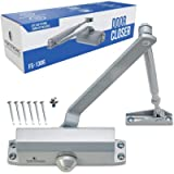 Door Closer FS-1306 Automatic Adjustable Closers Grade 3 Spring Hydraulic Auto Door-Closer with Easy Installation Life…