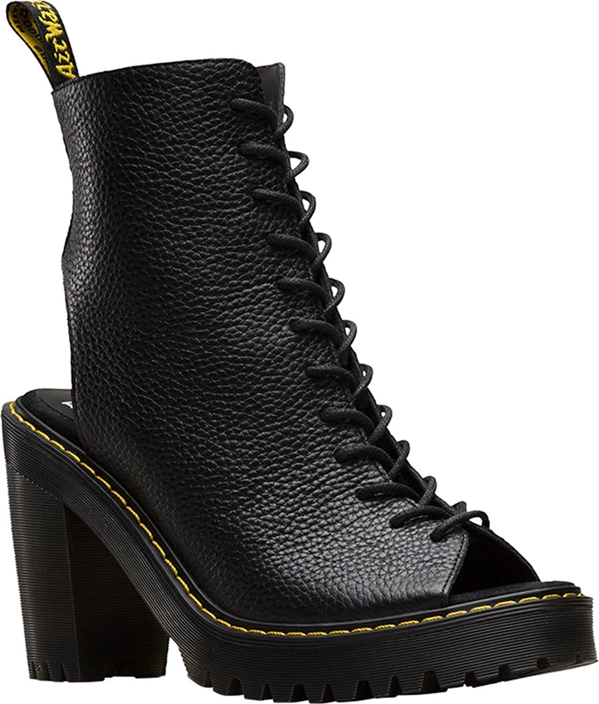 Dr. Martens R21906001 Women's Carmelita Open Heel Lace Up Boot