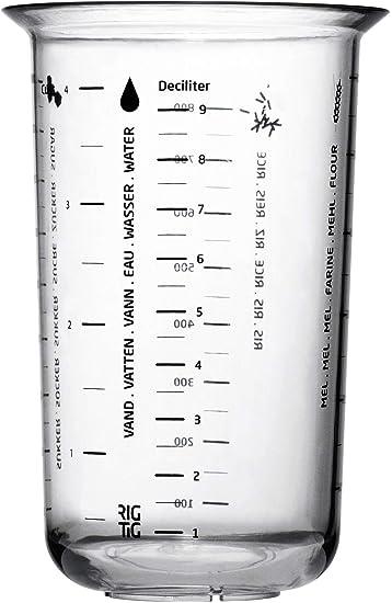 Compra RIG TIG by Stelton Z00203 - Vaso de medir (1 L) en Amazon.es