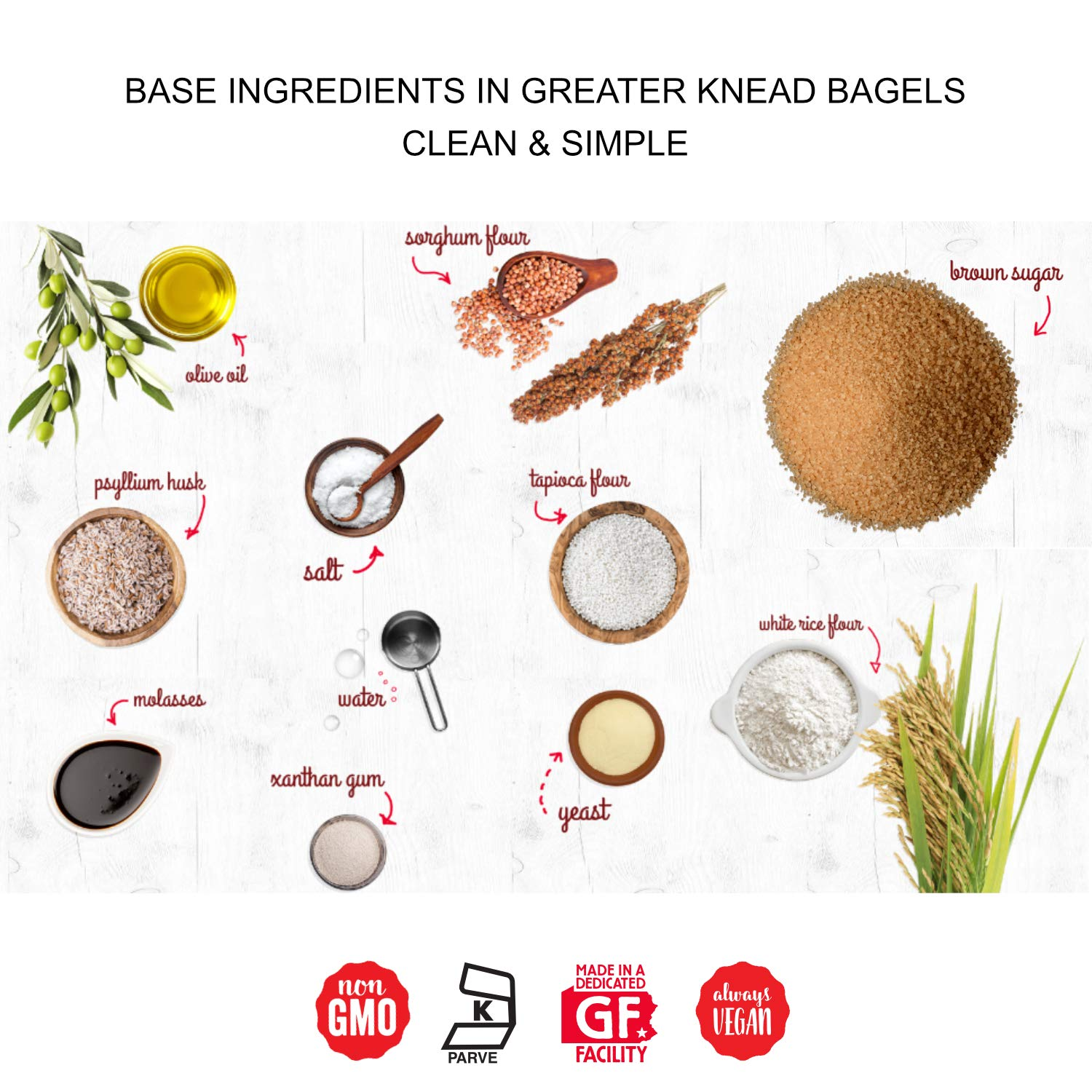 Greater Knead Gluten Free Bagel - Cinnamon Raisin - Vegan, non-GMO, Free of Wheat, Nuts, Soy, Peanuts, Tree Nuts (12 bagels) by The Greater Knead (Image #7)