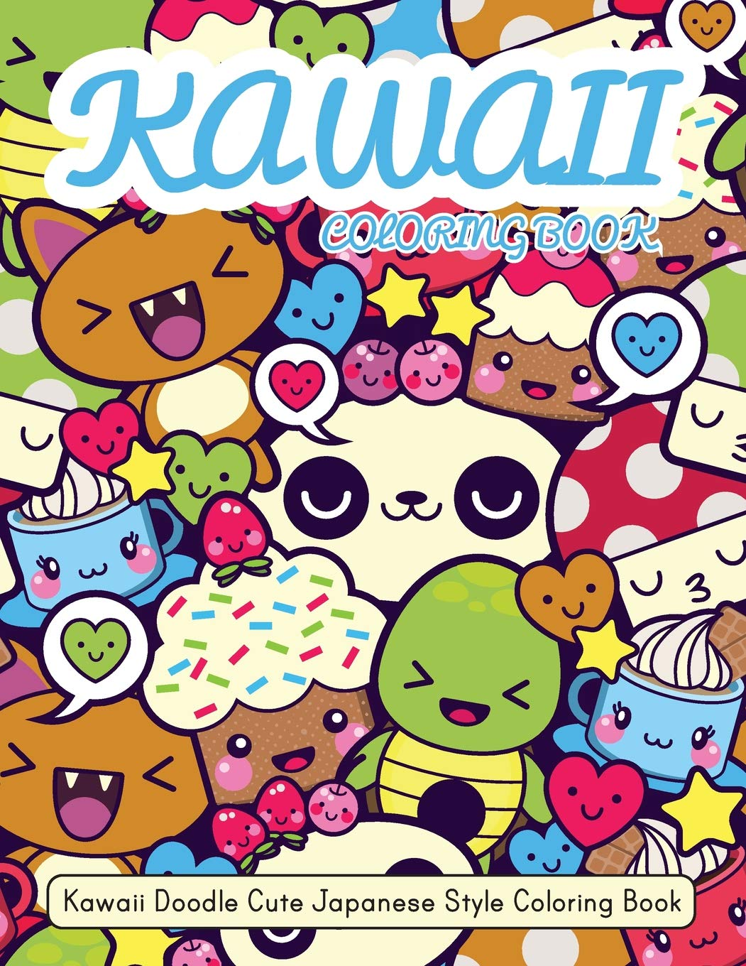Kawaii Coloring Book Japanese Inspiration product image