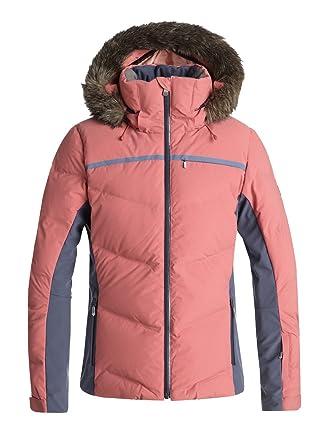 Roxy Snowstorm - Chaqueta De Snow Acolchada para Mujer ERJTJ03156: Amazon.es: Ropa y accesorios