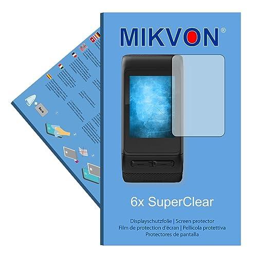 6x Mikvon SuperClear Film de protection d'écran pour Garmin vivoactive HR - transparent - Fait en Allemagne