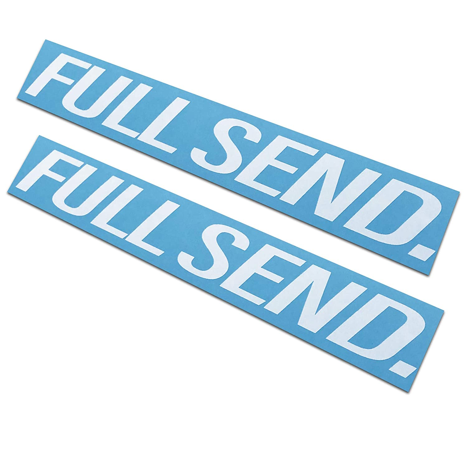 Full Send Decals//Stickers 1.5x11 Rdecals 2 Pack