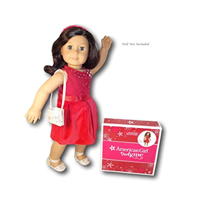 American Girl Tis The Season Party Dress for Dolls ( Doll not Included): Toys & Games