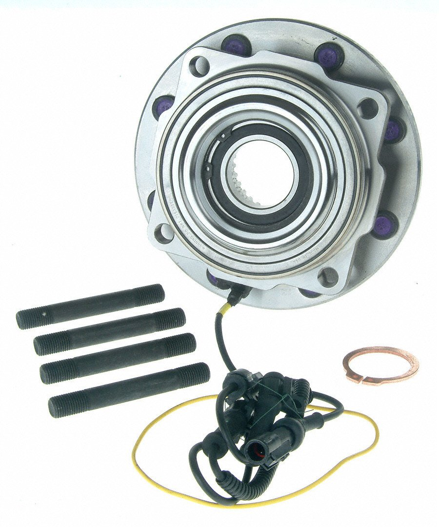 Note: Single Rear Wheels 2005 For Ford F-350 Super Duty Front Wheel Bearing and Hub Assembly x 2