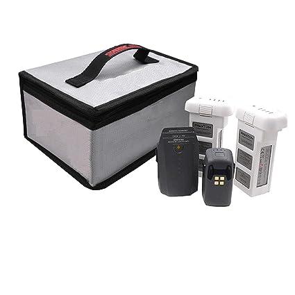 Battery Fireproof LiPo Safety Bag 20x11x15cm for DJI Phantom 4 RC Quadcopter