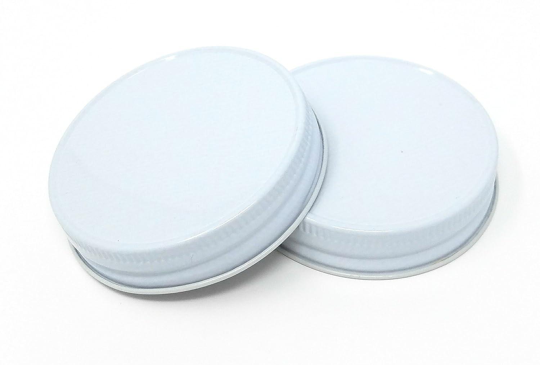 Nikas Home Jelly or Mason Jar Lid Black G70 CT 12 pack