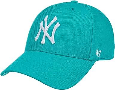 Gorra curva azul neptuno snapback de New York Yankees MLB MVP de ...