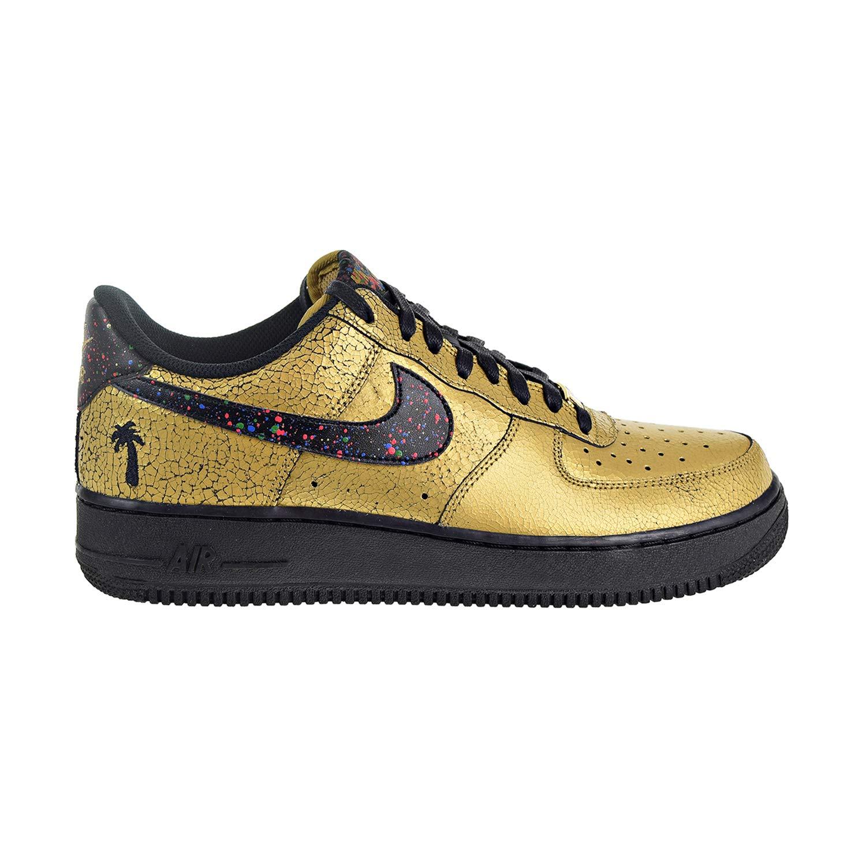 timeless design 51018 2619a Galleon - Nike Air Force 1  07 Men s Shoes Metallic Gold Black Av3219-700  (10 D(M) US)