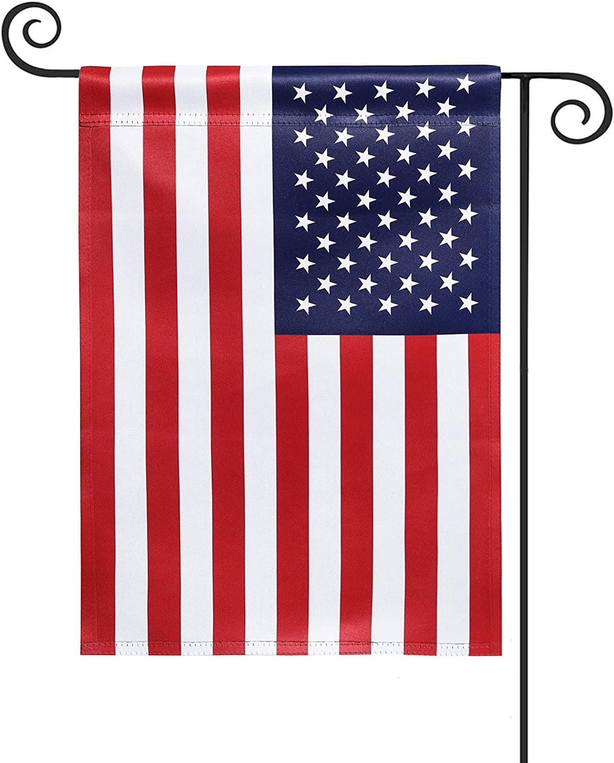 KPP American Garden Flag, 12x18 Inch 2020 USA Flag - Outdoor Yard Flag, Vertical Double Sided, Double Stitched(12 x 18 inch)