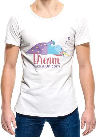 Upteetude Dream Like A Unicorn Unisex T-Shirt - White