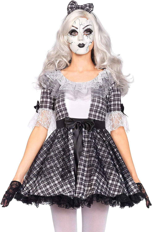 Leg Avenue 85511 - Disfraz de muñeca de Porcelana Pretty: Amazon ...