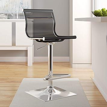 Amazon Com Bartow Swivel Adjustable Height Stool Furniture Decor