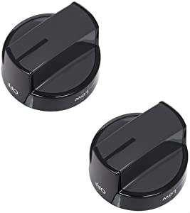 Lifetime Appliance 2 x W10339442 Knob for Whirlpool Range/Stove/Oven - WPW10339442