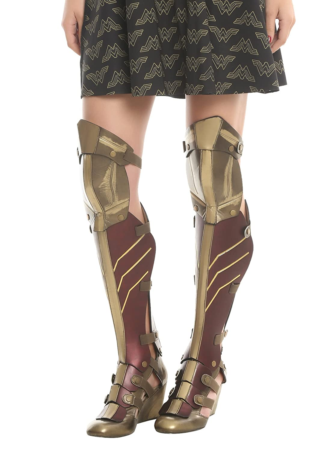 Wonder Woman Justice League 3-Piece Cosplay Wedge Boots