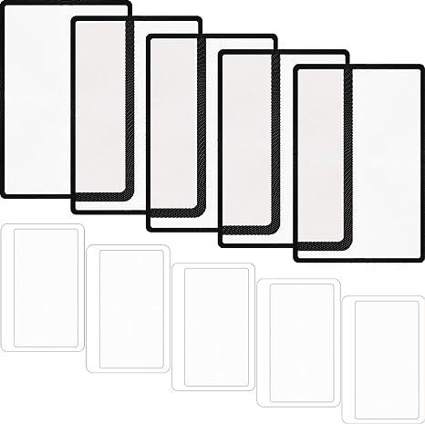 trasparenti Everpert 5 lenti di ingrandimento fresnel 3X a forma di carta di credito