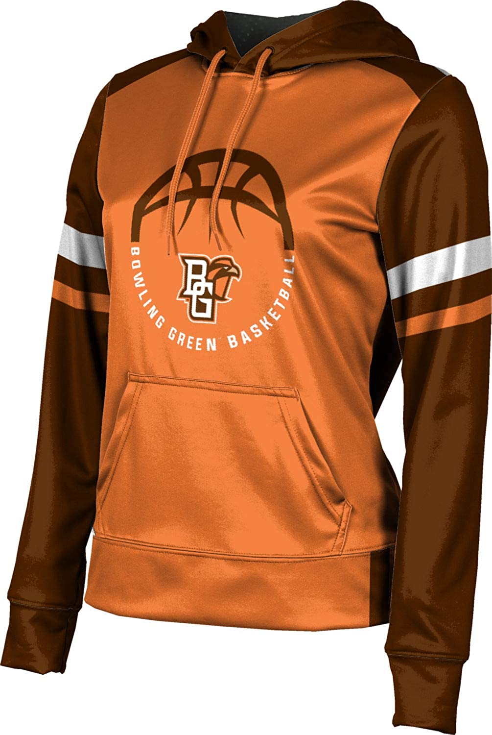 Old School ProSphere Bowling Green State University Basketball Girls Pullover Hoodie School Spirit Sweatshirt
