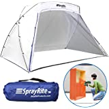SPRAYRITE – Paint Spray Shelter - Spray Booth Painting Tent - Furniture Paint Stain Shelter - Portable for Home Use and Stores Easily - Great For Woodworking - Set up size is 6' X 8' X 5.5'