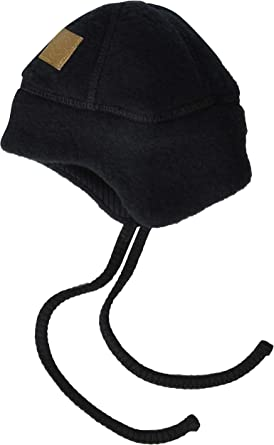 MIKK Line Baby /& Toddler Wool Hat with Full-Neck Closure
