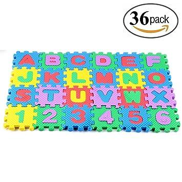 pattern puzzles play floor foam mats mat cartoon kids children item eva puzzle carpet animal for