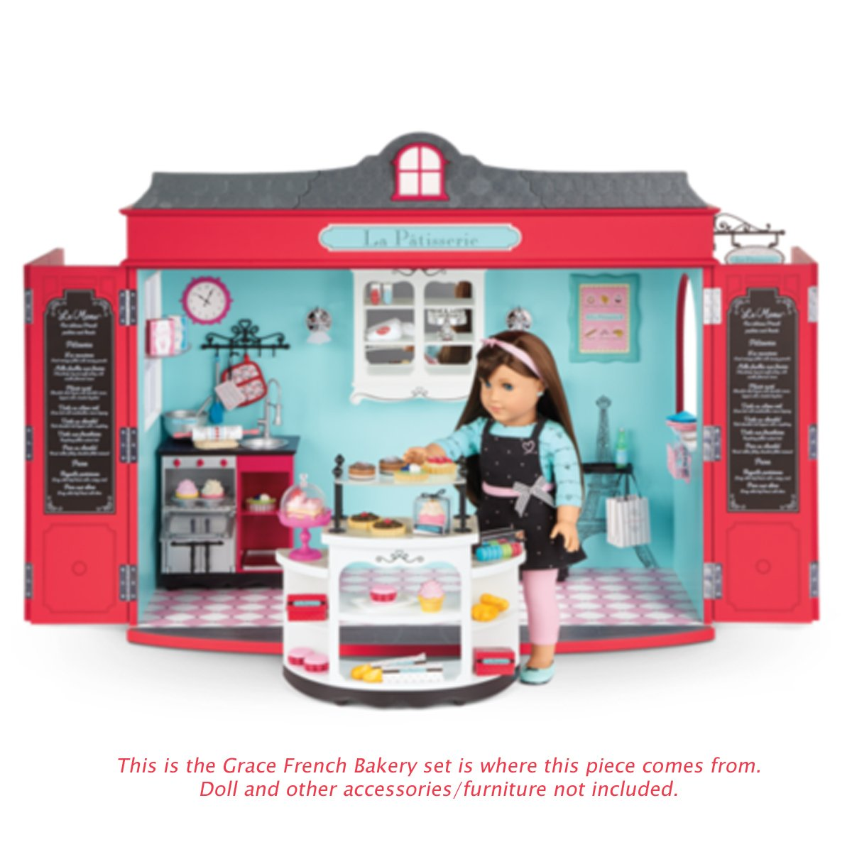 Amazon.com: American Girl Grace French Bakery Kitchen Oven Sink for ...