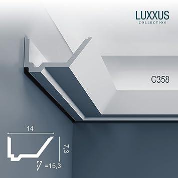 Orac decor c358 luxxus profilleiste stuckgesims zierleiste stuck ...