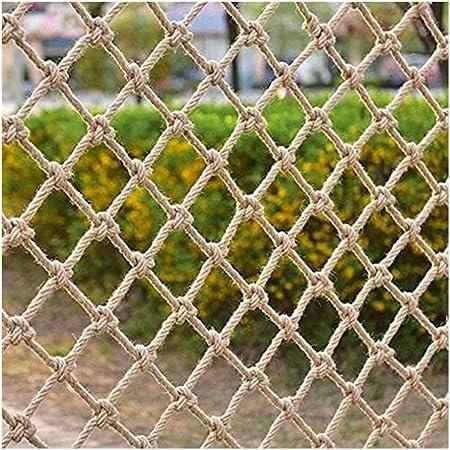 UIPU Jardín Cuerda del Cáñamo Planta Red De Escalada Malla Red, Yute Natural Material De Decoración Fácil De Instalar Y Fácil De Reemplazar 0705 (Size : 1x8m): Amazon.es: Hogar