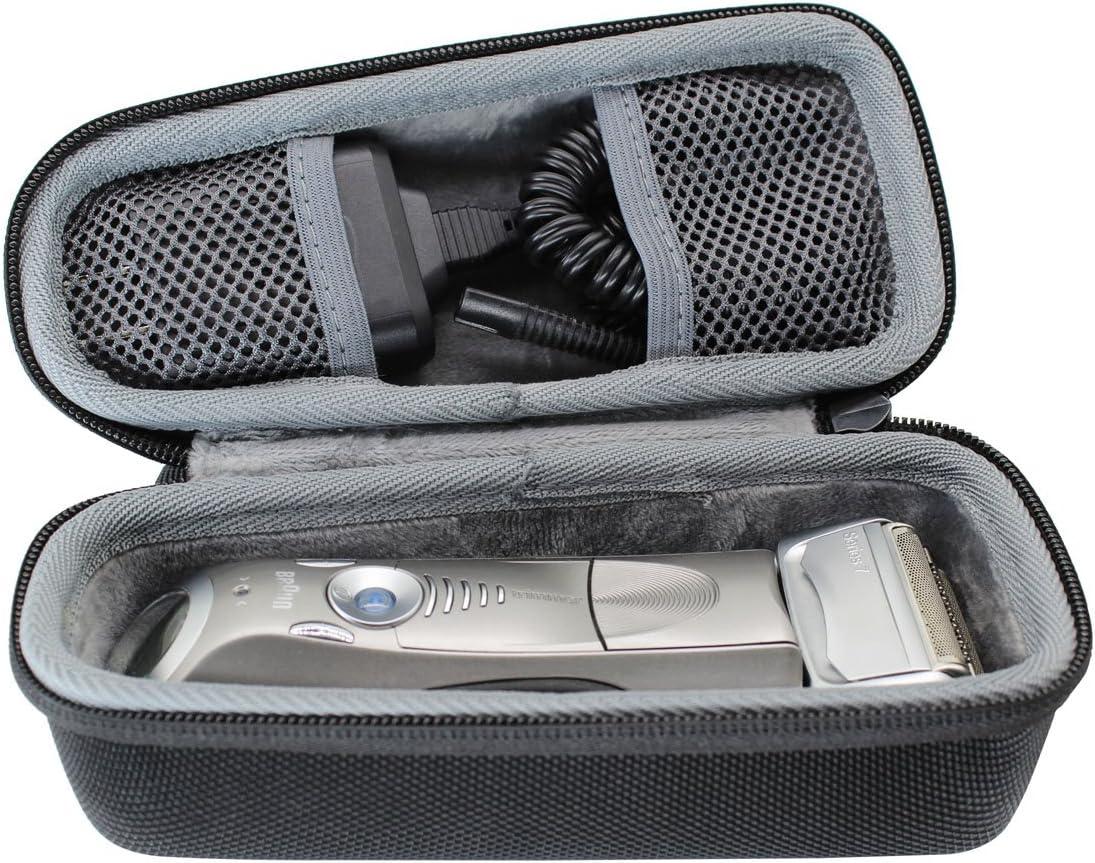 VIVENS - Bolsa de viaje rígida para afeitadora eléctrica Braun ...