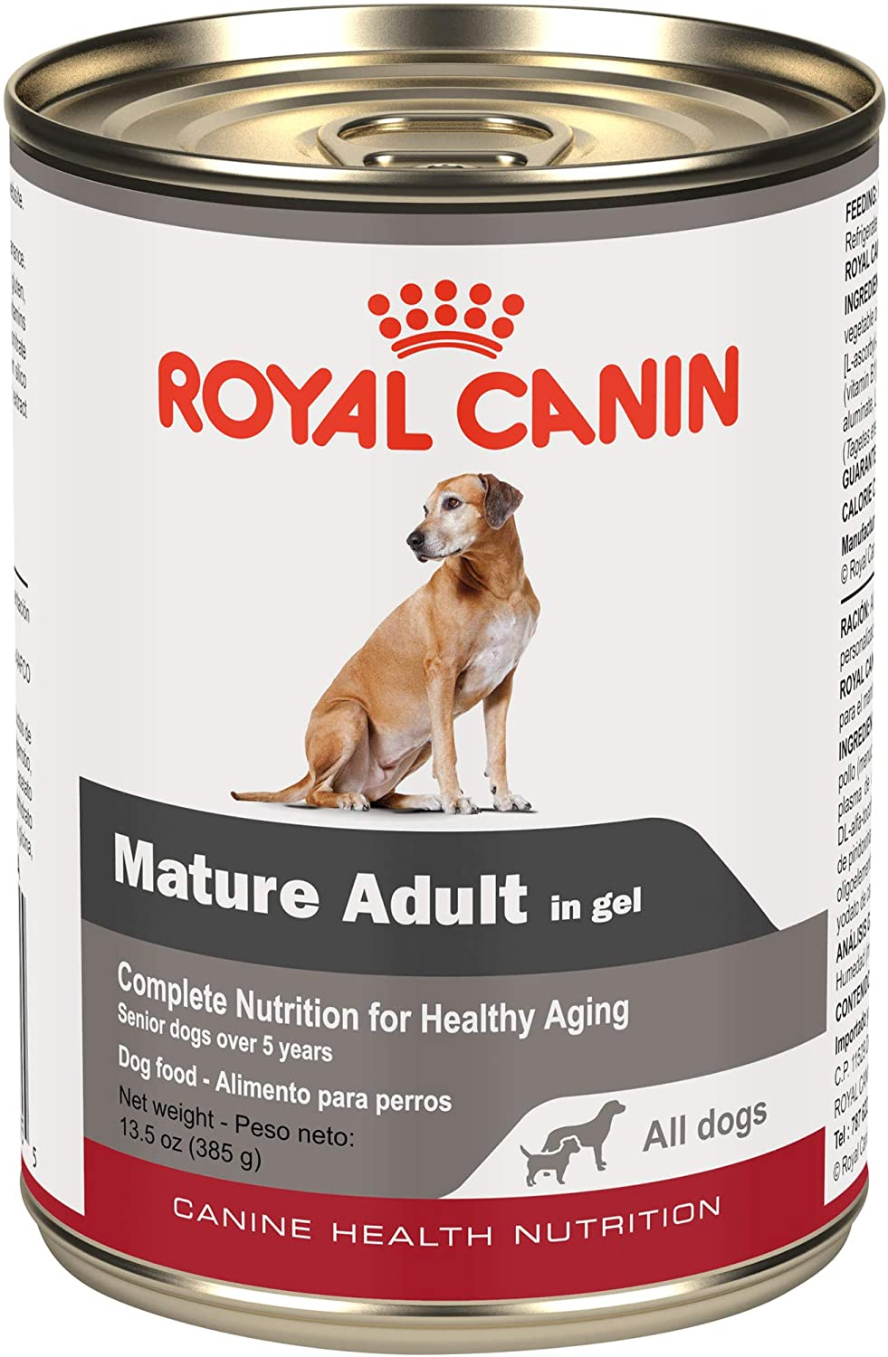 Royal Canin Canine Health Nutrition Mature Adult In Gel Canned Dog Food, 13.5 oz Can (Case of 12)